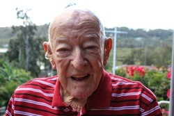 John Seaton, aged 90 (Pittwater Online News)