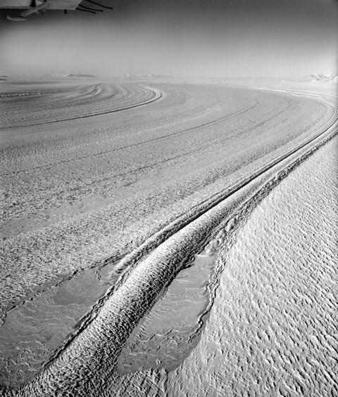 Lambert Glacier – first seen by John Seaton, 28 November 1956 ( Ric Ruker, Australian Antarctic Division)