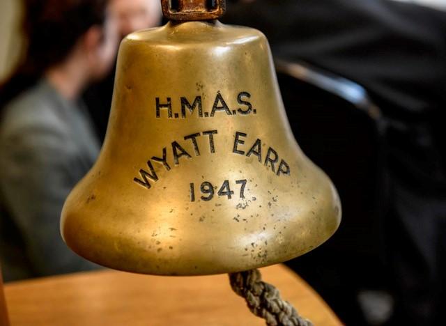 Wyatt Earp, ships bell
